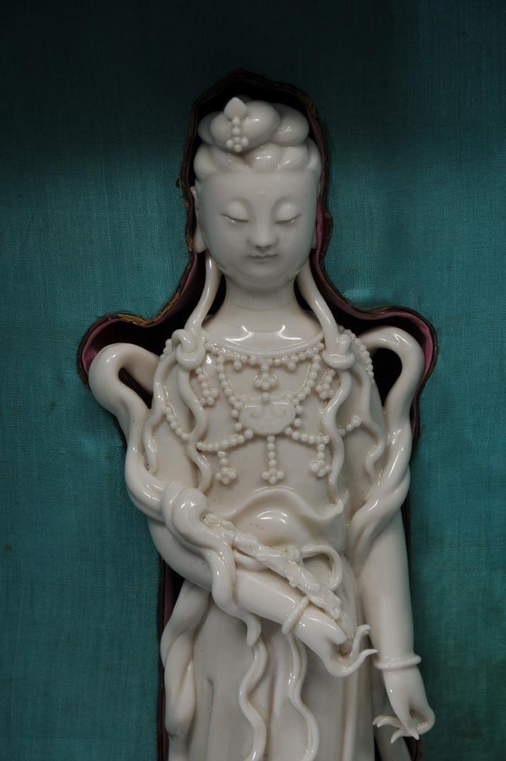 Porcelain figure. China. 19th century. Te Hua ware. - 3