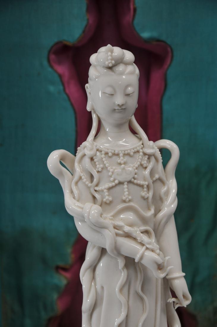 Porcelain figure. China. 19th century. Te Hua ware. - 5