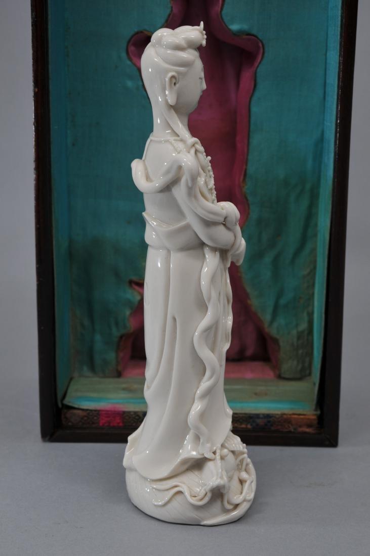 Porcelain figure. China. 19th century. Te Hua ware. - 6