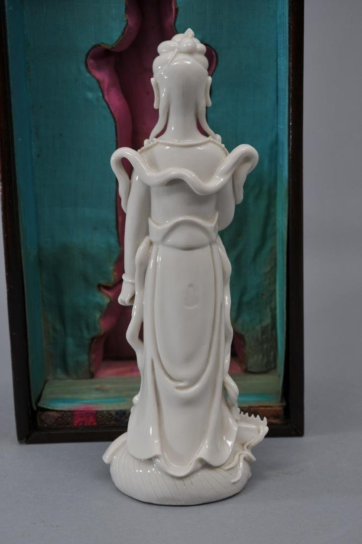 Porcelain figure. China. 19th century. Te Hua ware. - 7