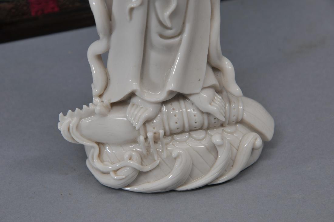 Porcelain figure. China. 19th century. Te Hua ware. - 8