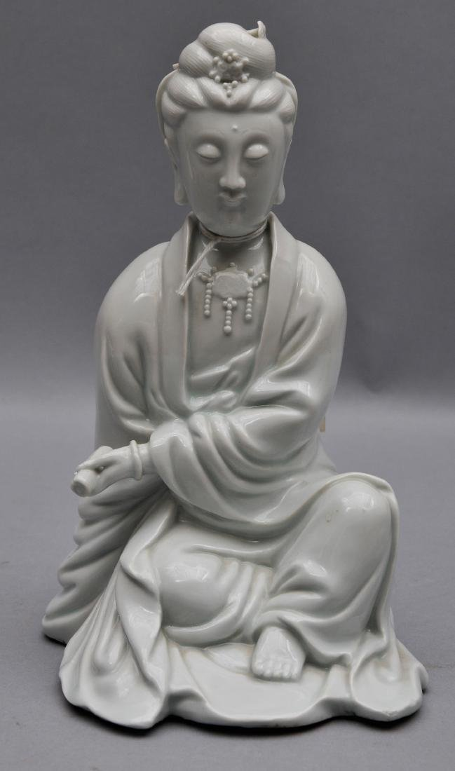 Porcelain figure. China. 18th century. Te Hua ware.