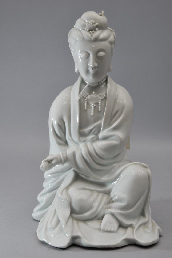 Porcelain figure. China. 18th century. Te Hua ware. - 2