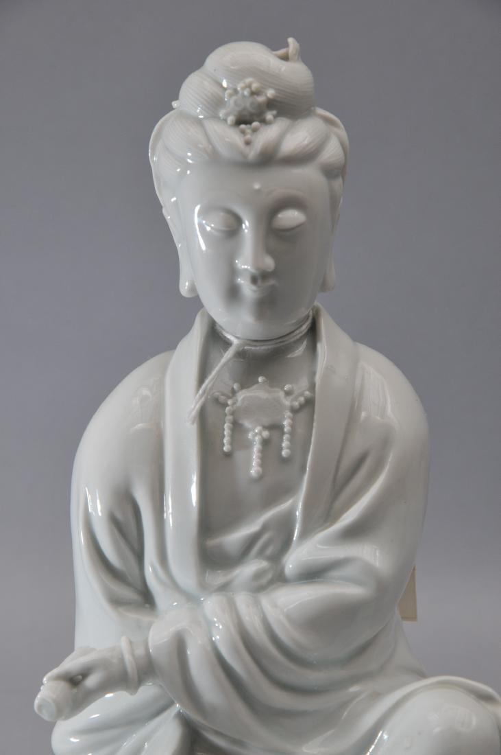 Porcelain figure. China. 18th century. Te Hua ware. - 3
