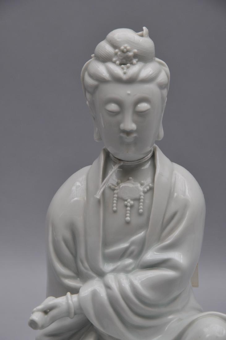 Porcelain figure. China. 18th century. Te Hua ware. - 4