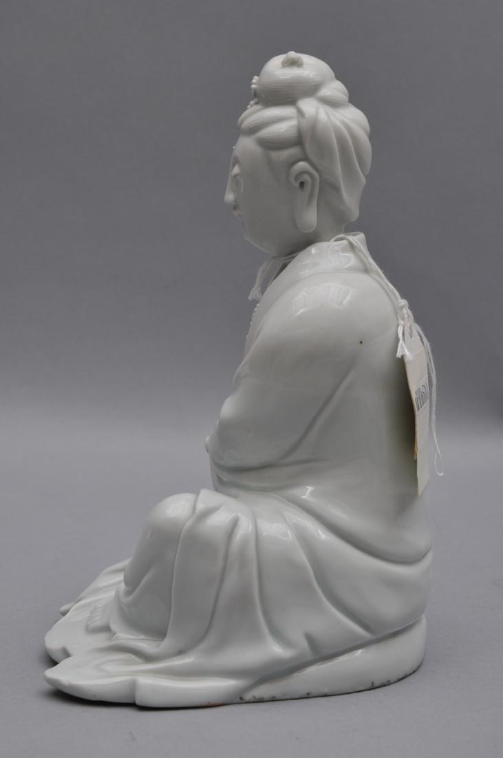 Porcelain figure. China. 18th century. Te Hua ware. - 6