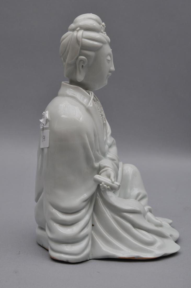 Porcelain figure. China. 18th century. Te Hua ware. - 8