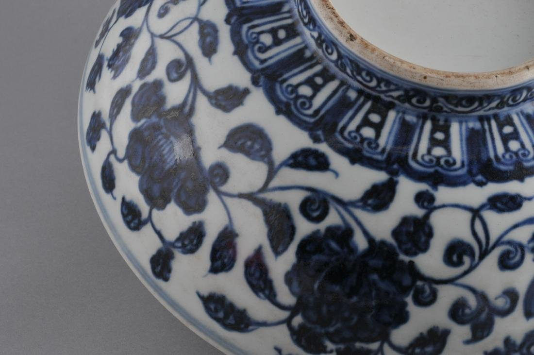 Porcelain bowl. China. 19th century. Ming style - 5