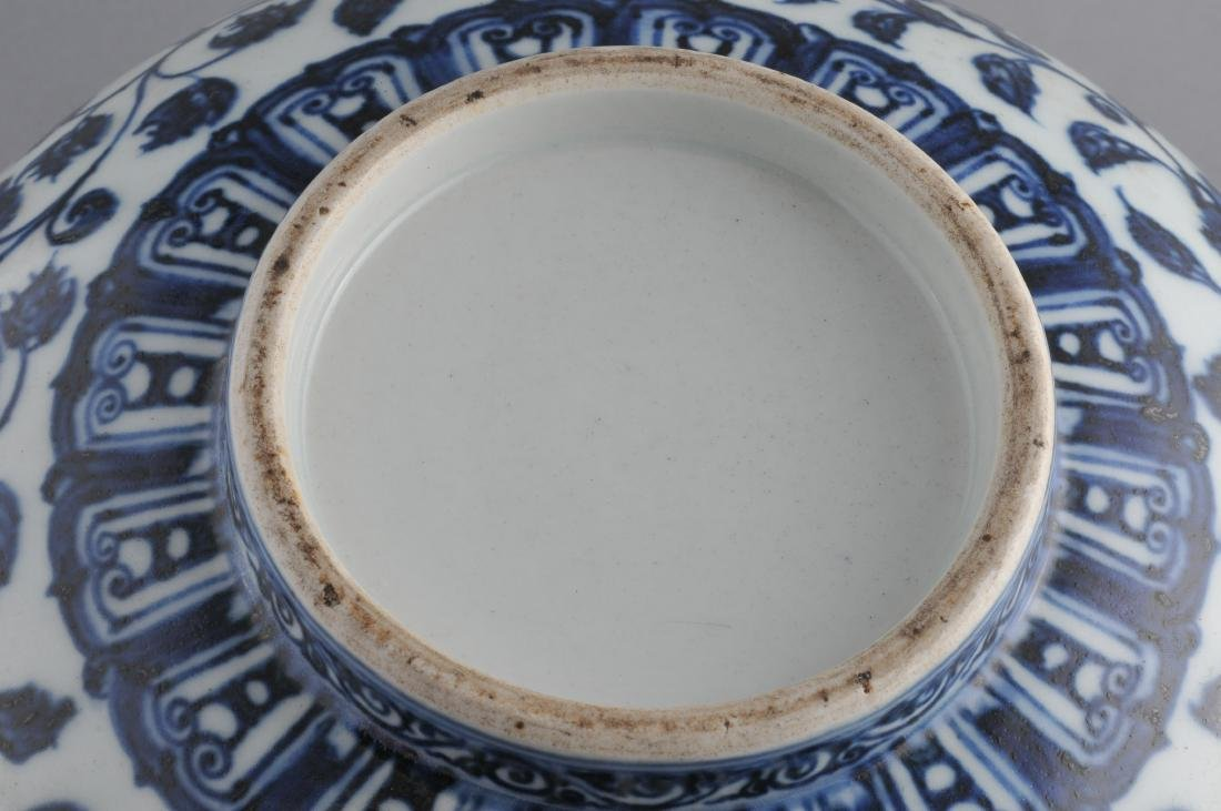 Porcelain bowl. China. 19th century. Ming style - 6