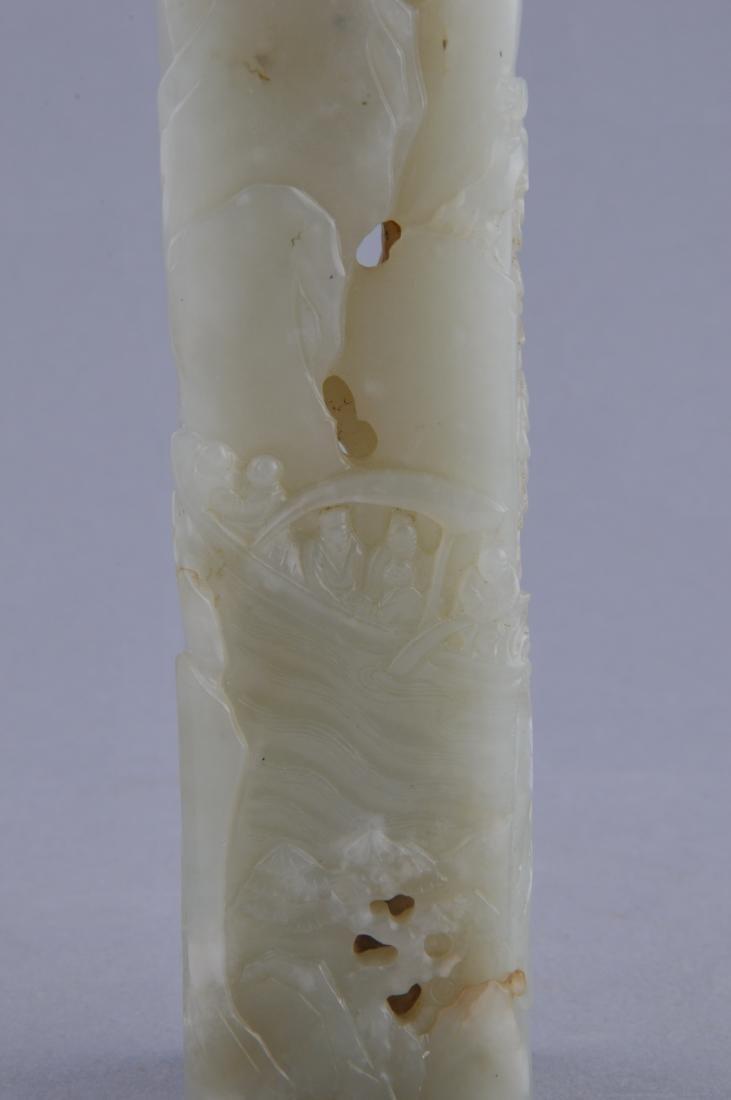 Jade censer. China. 18th  century. Stone of pale - 10