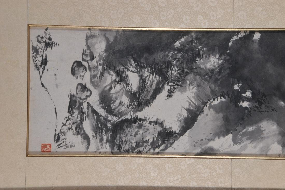 Scroll painting. China. 20th century. Ink on paper. - 3