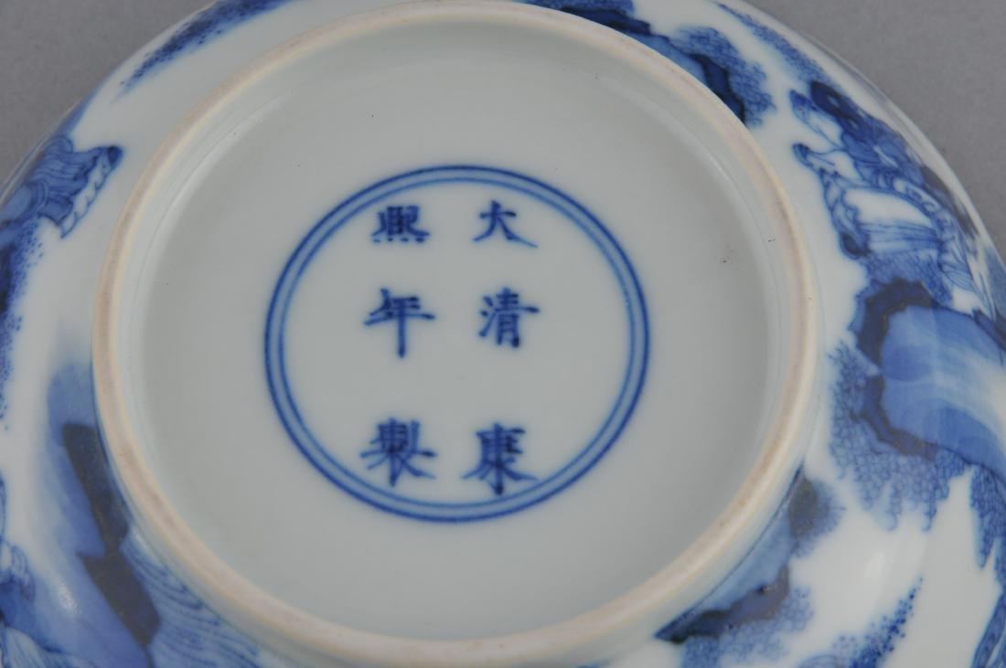 Porcelain saucer dish. China. 19th century. Scalloped - 5