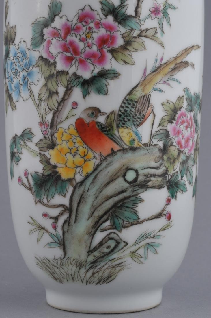 Porcelain vase. China. 20th century. Famille Rose - 2
