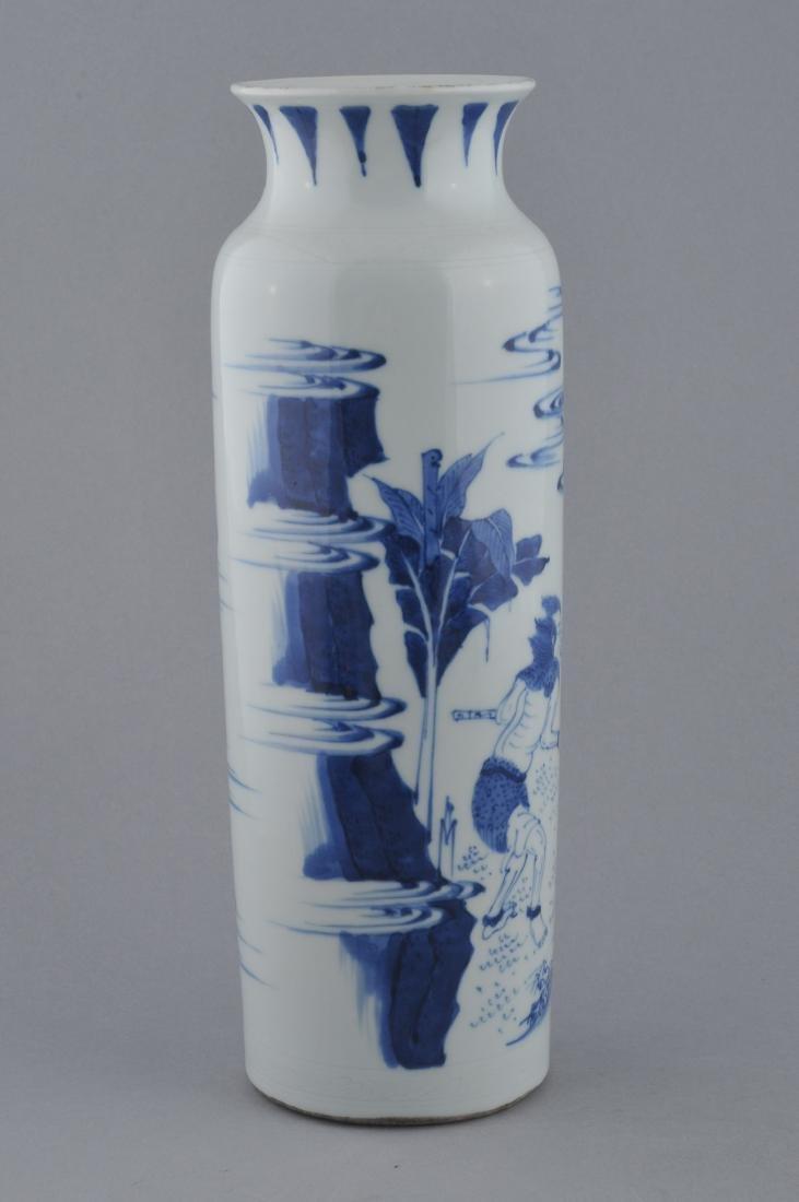 Porcelain vase. China. 20th century. Transitional - 4