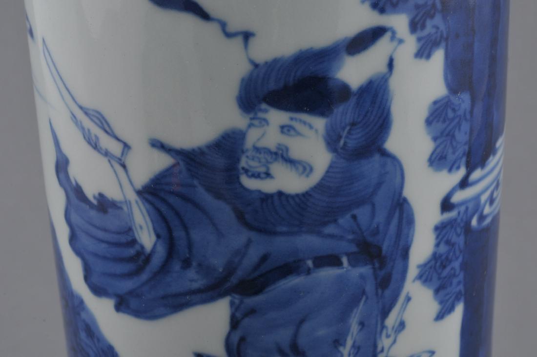 Porcelain vase. China. 20th century. Transitional - 6