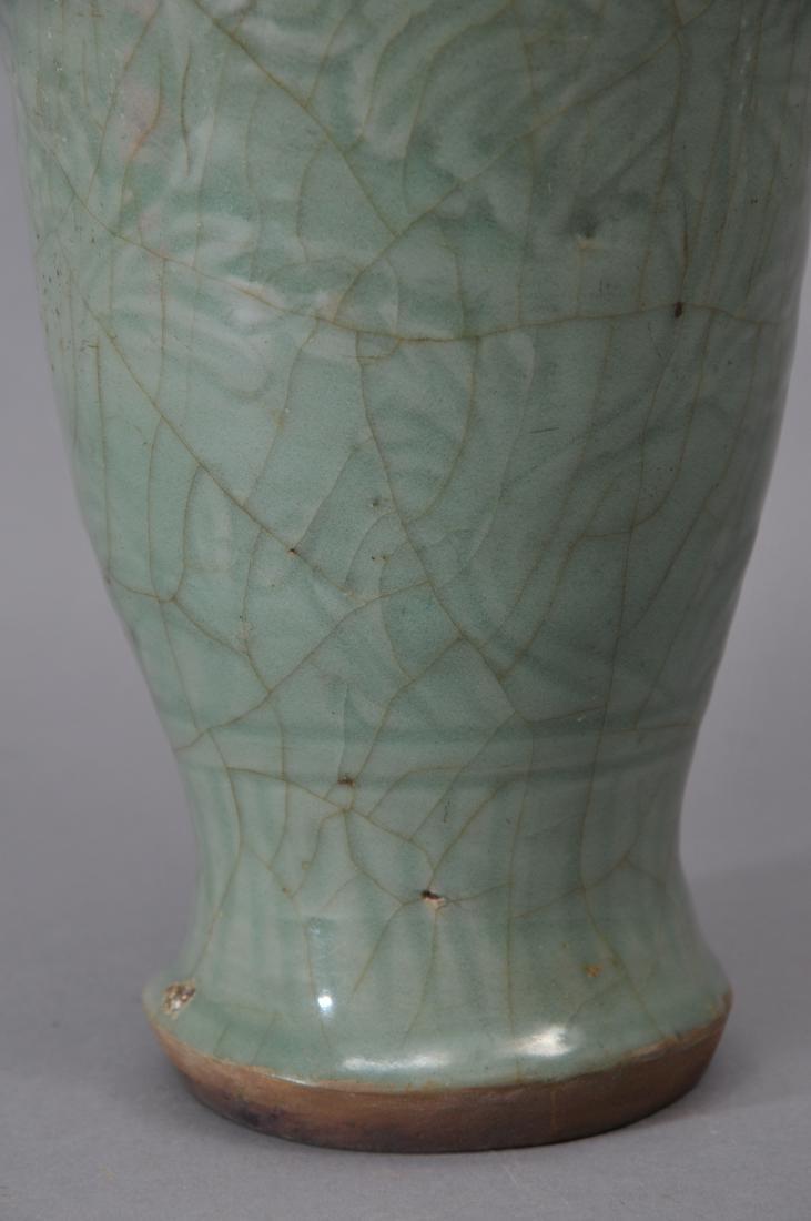 Celadon vase. China. Yuan period. (1279-1368). Lung - 3