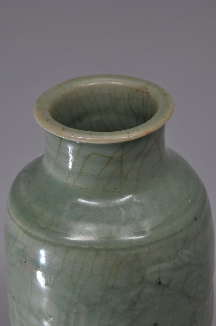 Celadon vase. China. Yuan period. (1279-1368). Lung - 5
