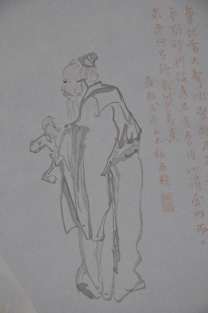 Lot of 18 Woodblock prints. China. 20th century. After - 3