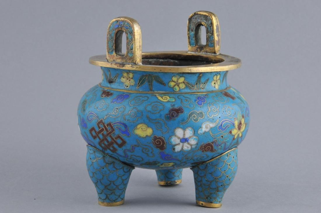 Cloisonne censer. China. 18th/early 19th century. - 3