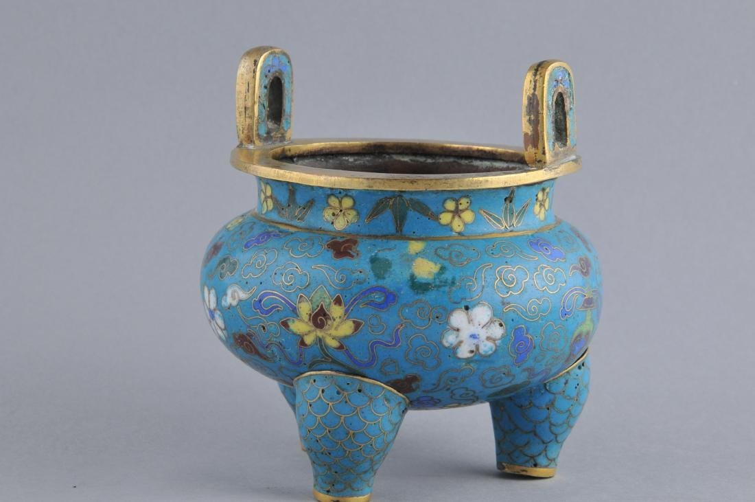 Cloisonne censer. China. 18th/early 19th century. - 4