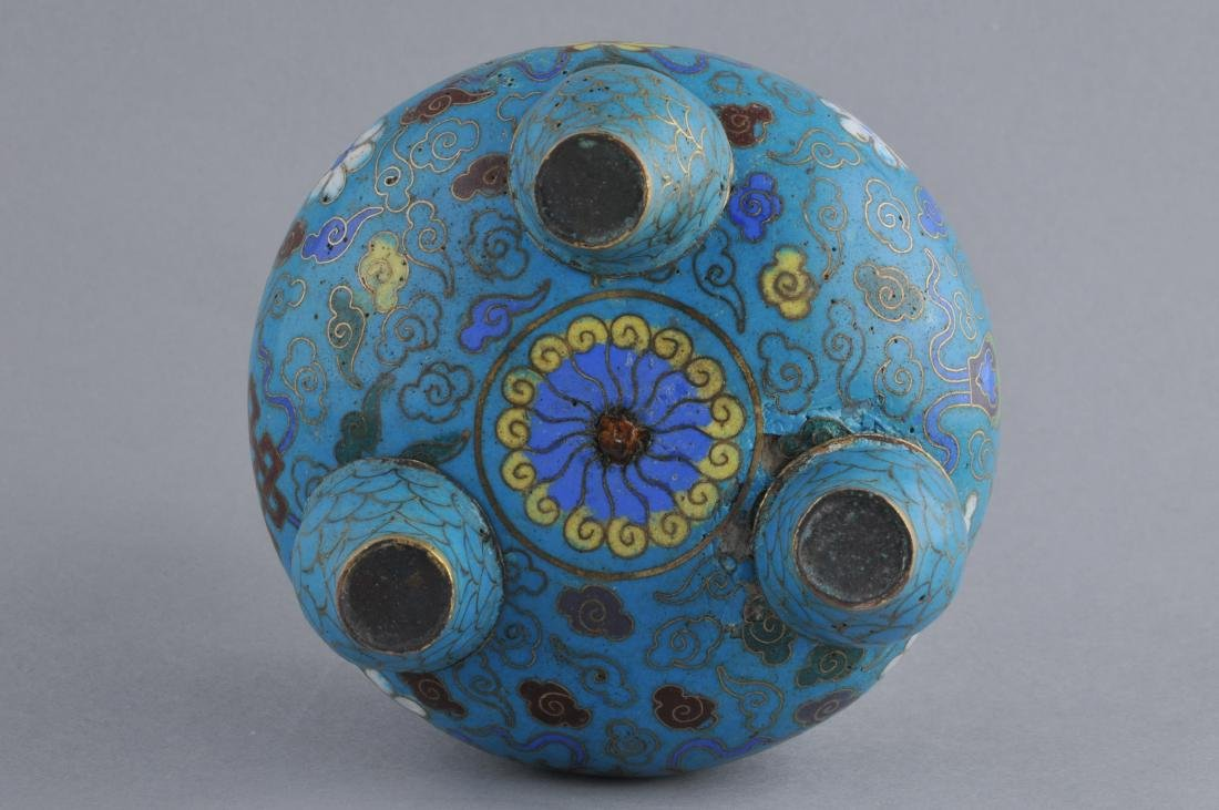 Cloisonne censer. China. 18th/early 19th century. - 6