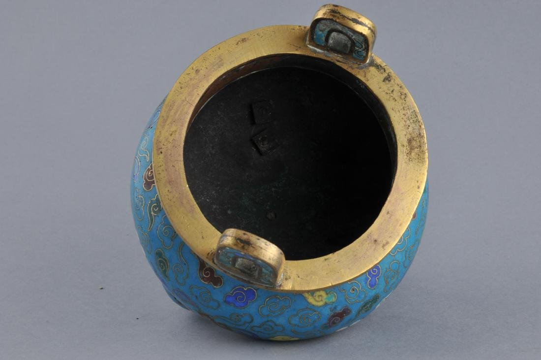 Cloisonne censer. China. 18th/early 19th century. - 7