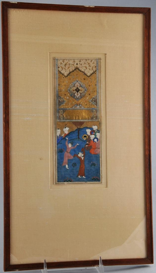 Miniature painting. Persia. Safavid period. Early 17th