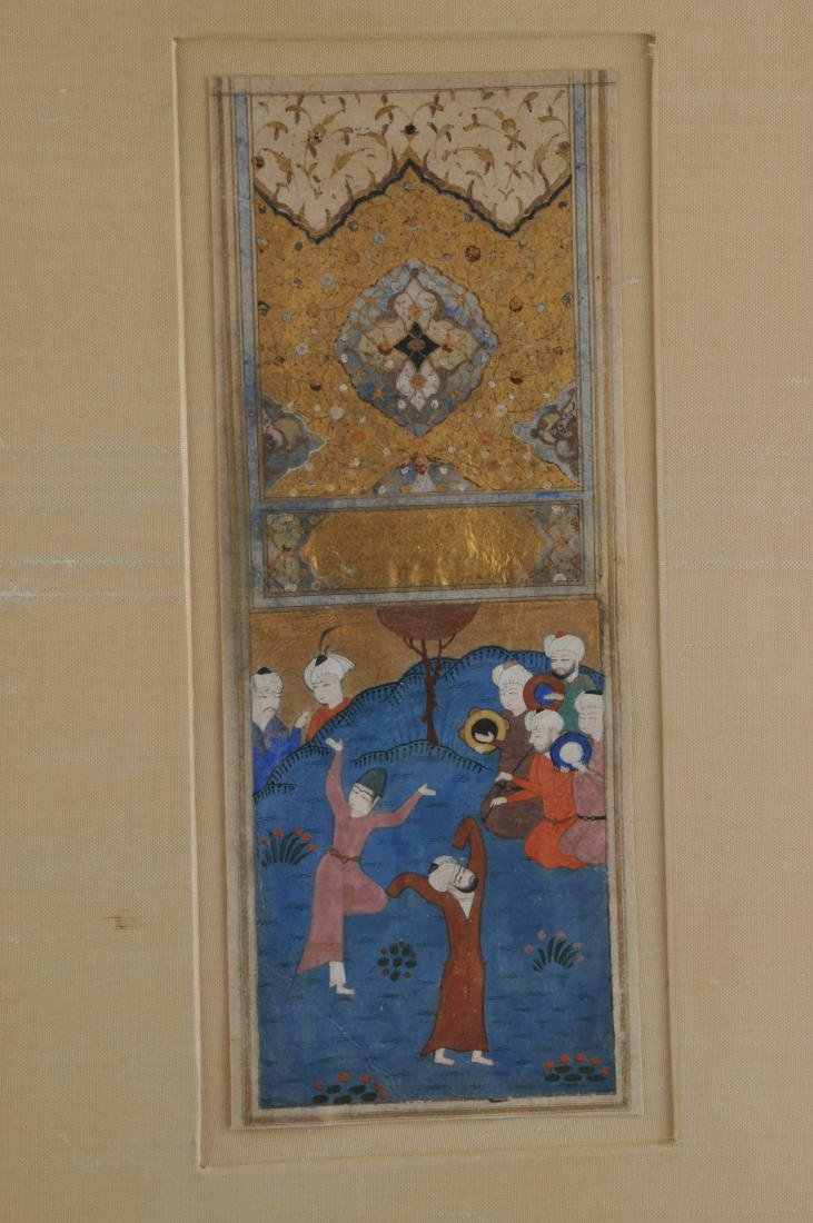 Miniature painting. Persia. Safavid period. Early 17th - 2