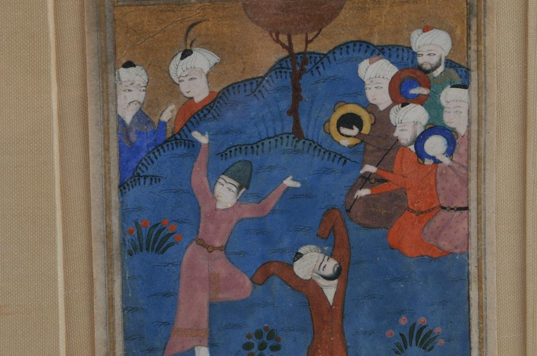 Miniature painting. Persia. Safavid period. Early 17th - 5