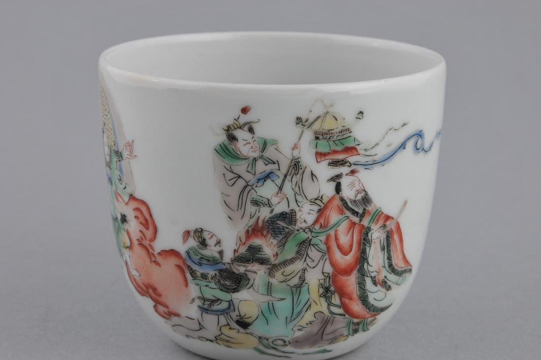 Porcelain cup. China. 18th century. Famille Verte - 2