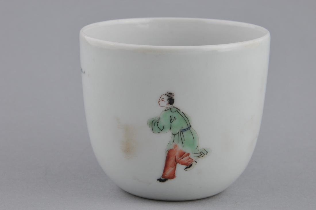 Porcelain cup. China. 18th century. Famille Verte - 3