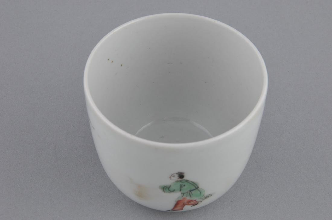Porcelain cup. China. 18th century. Famille Verte - 4