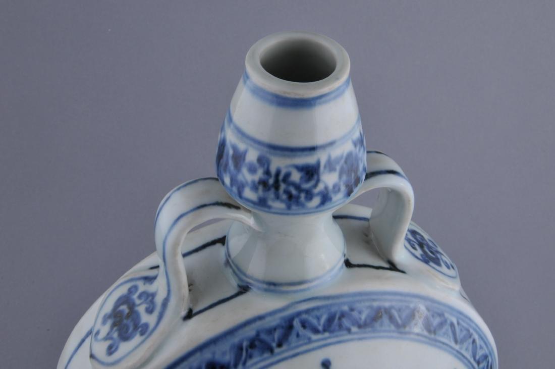 Porcelain vase. China. 20th century. Ming style. - 7