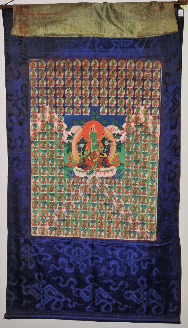 Buddhist Icon. Tibet. First half of the 20th century.