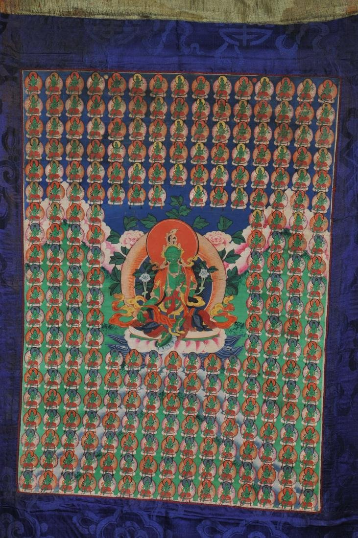 Buddhist Icon. Tibet. First half of the 20th century. - 2