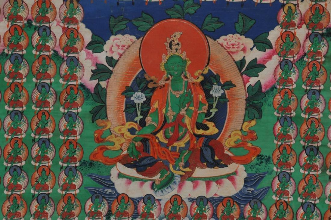 Buddhist Icon. Tibet. First half of the 20th century. - 3