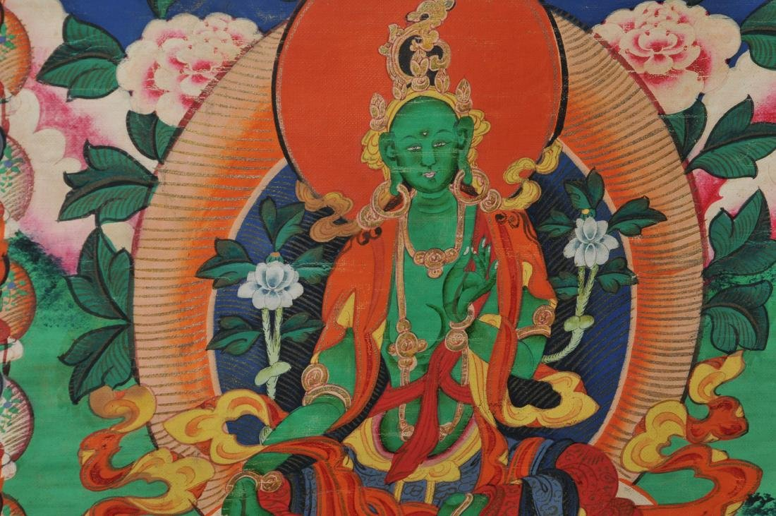 Buddhist Icon. Tibet. First half of the 20th century. - 6