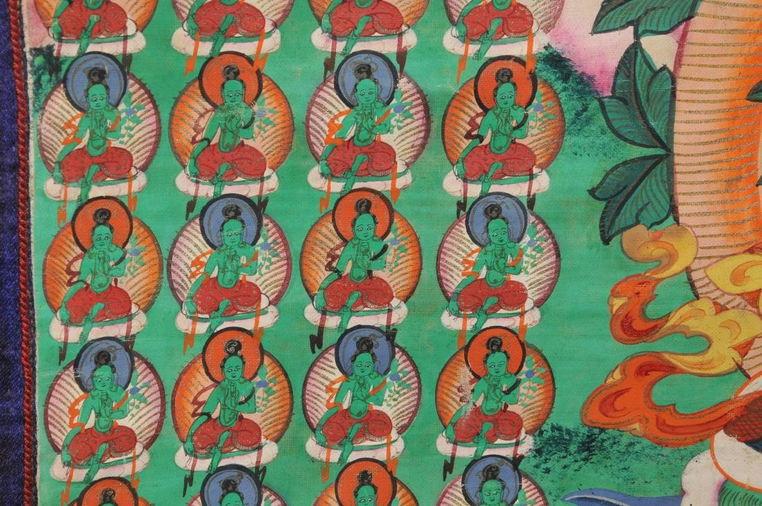 Buddhist Icon. Tibet. First half of the 20th century. - 7