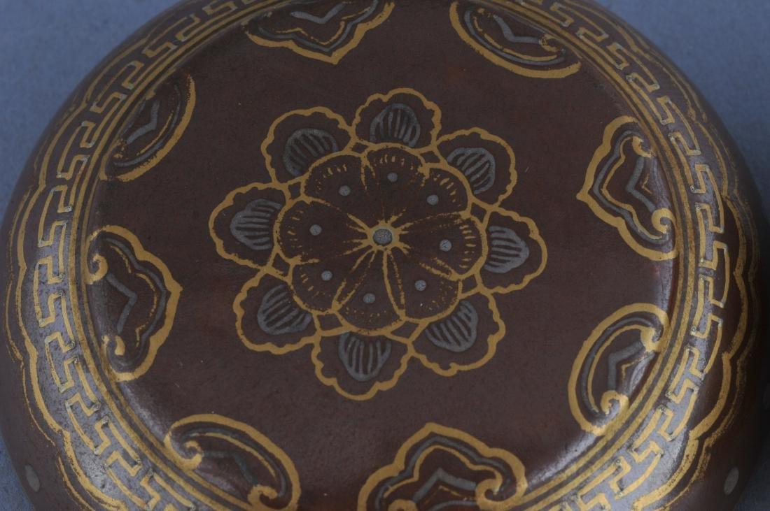 Porcelain Incense box. China. 19th century. Cafe au - 4