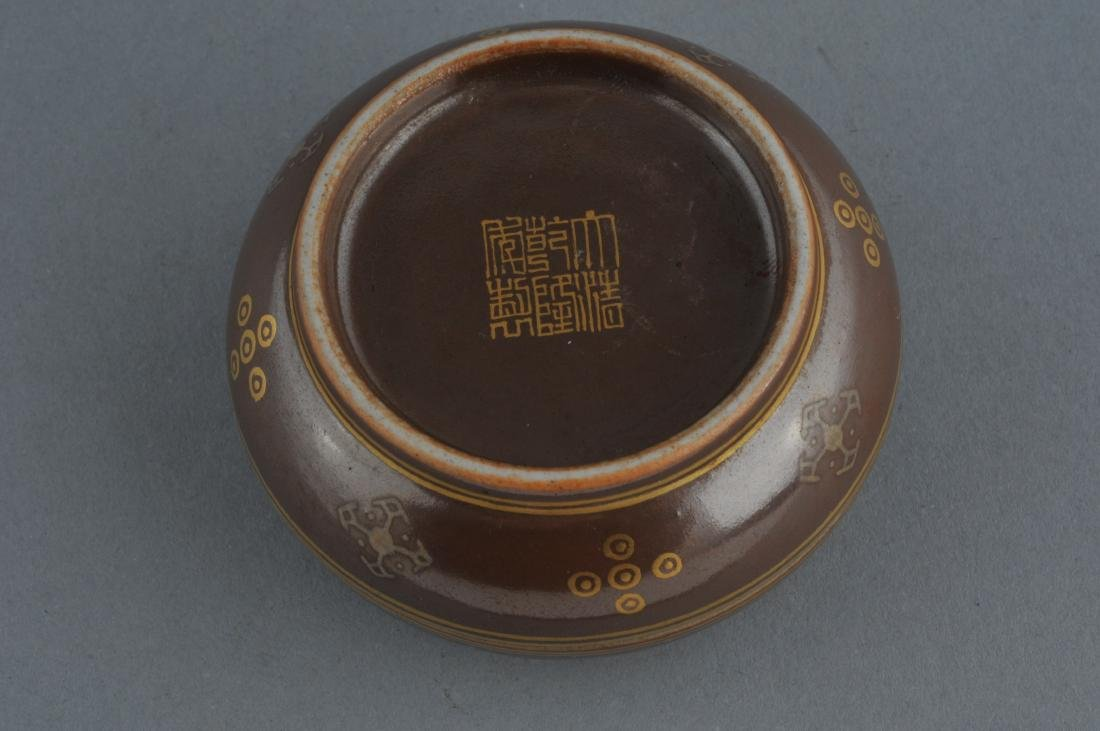 Porcelain Incense box. China. 19th century. Cafe au - 5