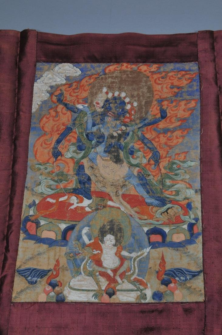 Buddhist Icon Thangka. Tibet. 18th/19th century. - 2