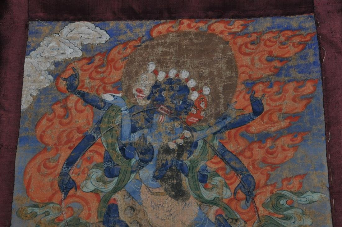 Buddhist Icon Thangka. Tibet. 18th/19th century. - 5