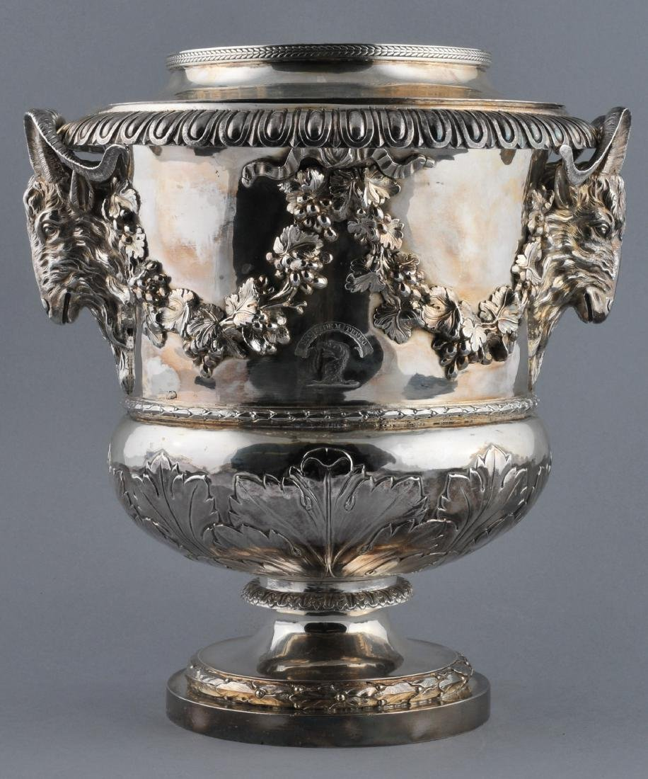 William Pitts. London Georgian Silver. Heavy ornate