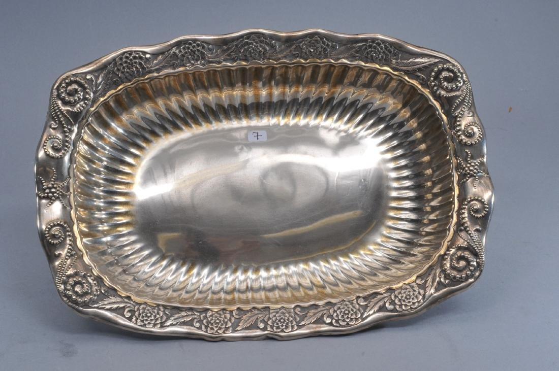 "Whiting stering silver ""Fantasy"" pattern rectangular"