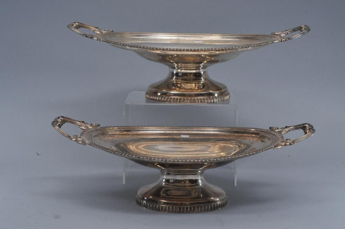 Pair of William Gale & Son, New York, 1862. Sterling