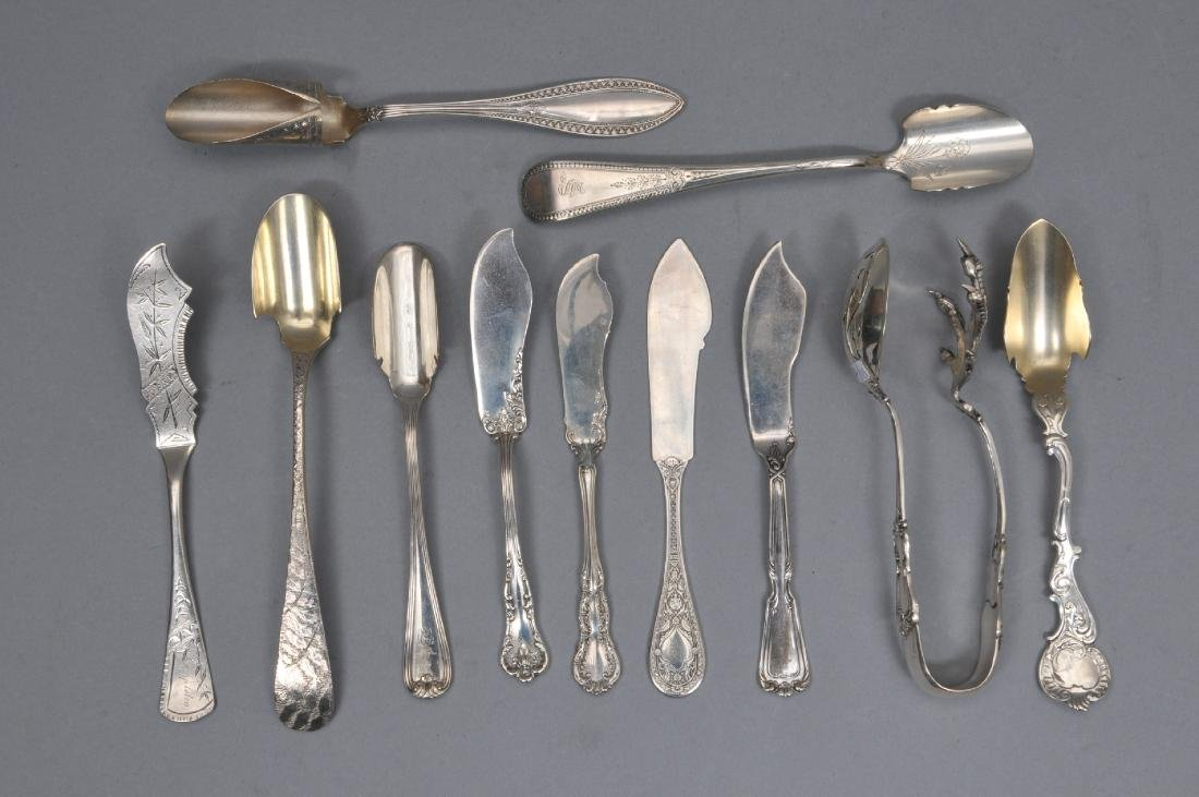 A fine selection of eleven 19th Century American