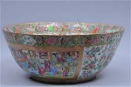 Rare large oversized Chinese Famille Rose porcelain