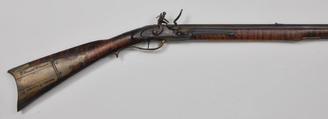 """Signed Rifle 53-3/4"""" overall .36 Cal. 38-3/4"""" eight"""
