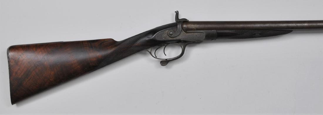 "William Moore & Grey Shotgun Double 30-7/8"" barrels"
