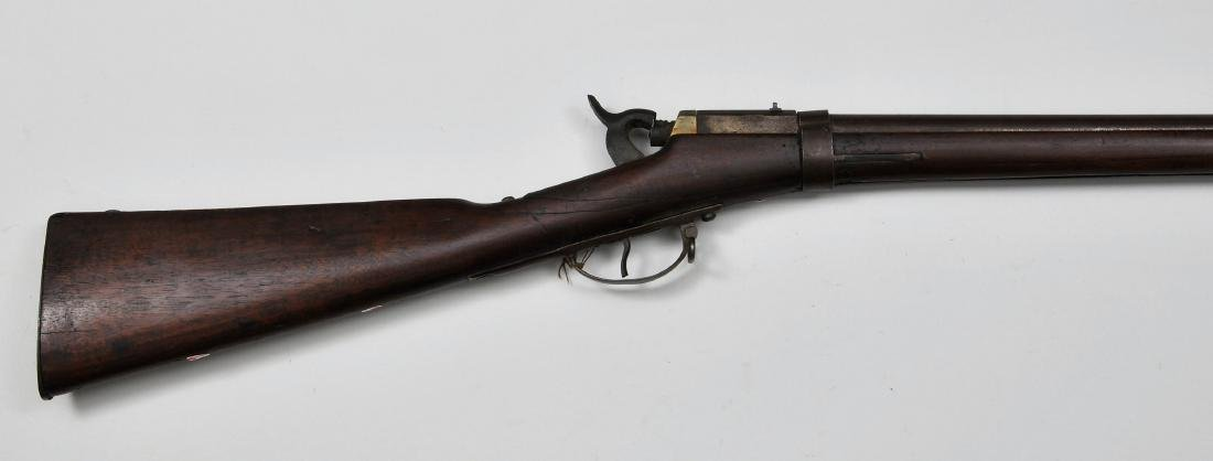 Confederate Muzzle Loading Rifle. This exceedingly rare